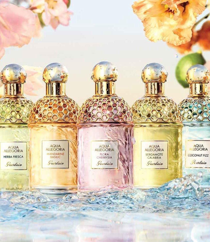 Guerlain Aqua Allegoria Sample Set