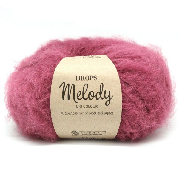 Пряжа Drops Melody 10 розовый вереск