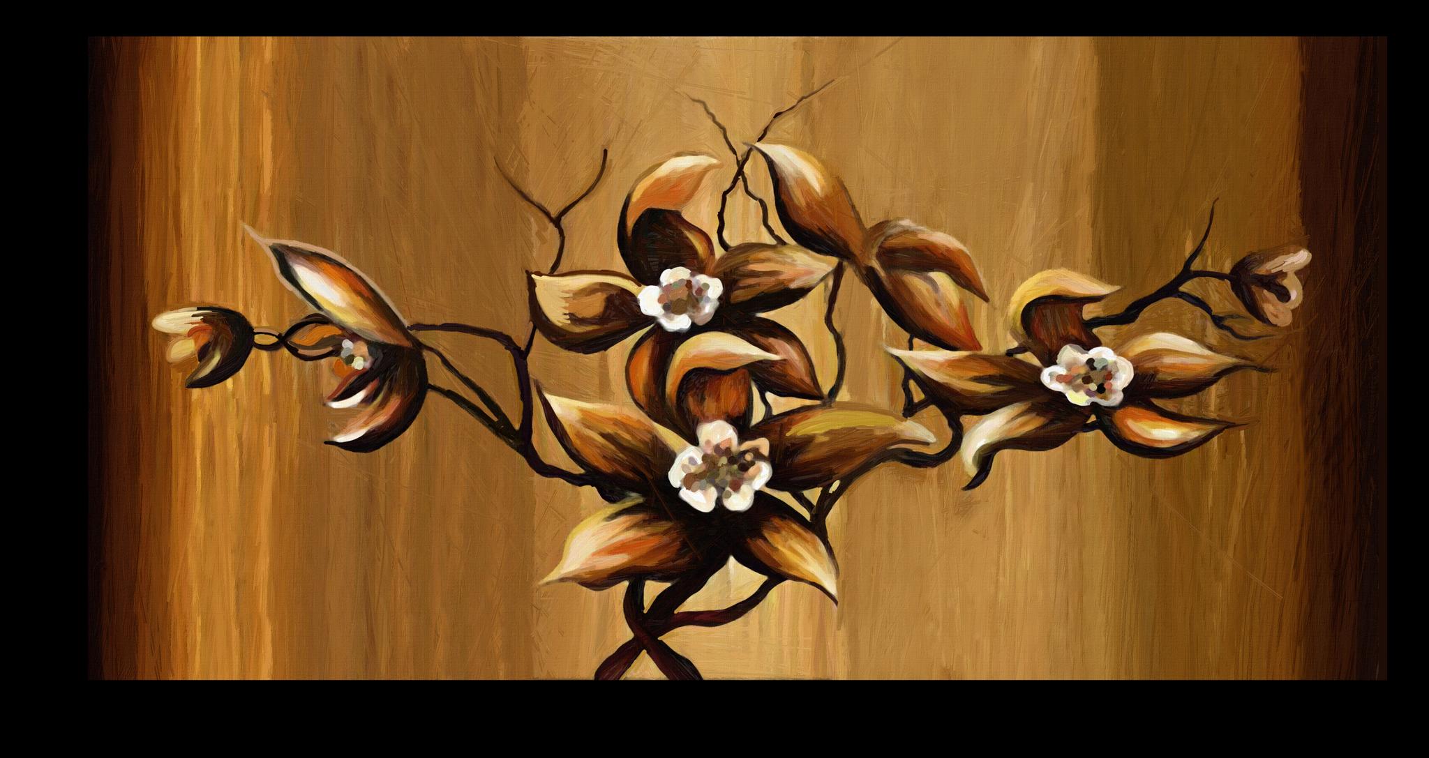 """Постеры Постер """"Четыре цветка"""" п79.png"""