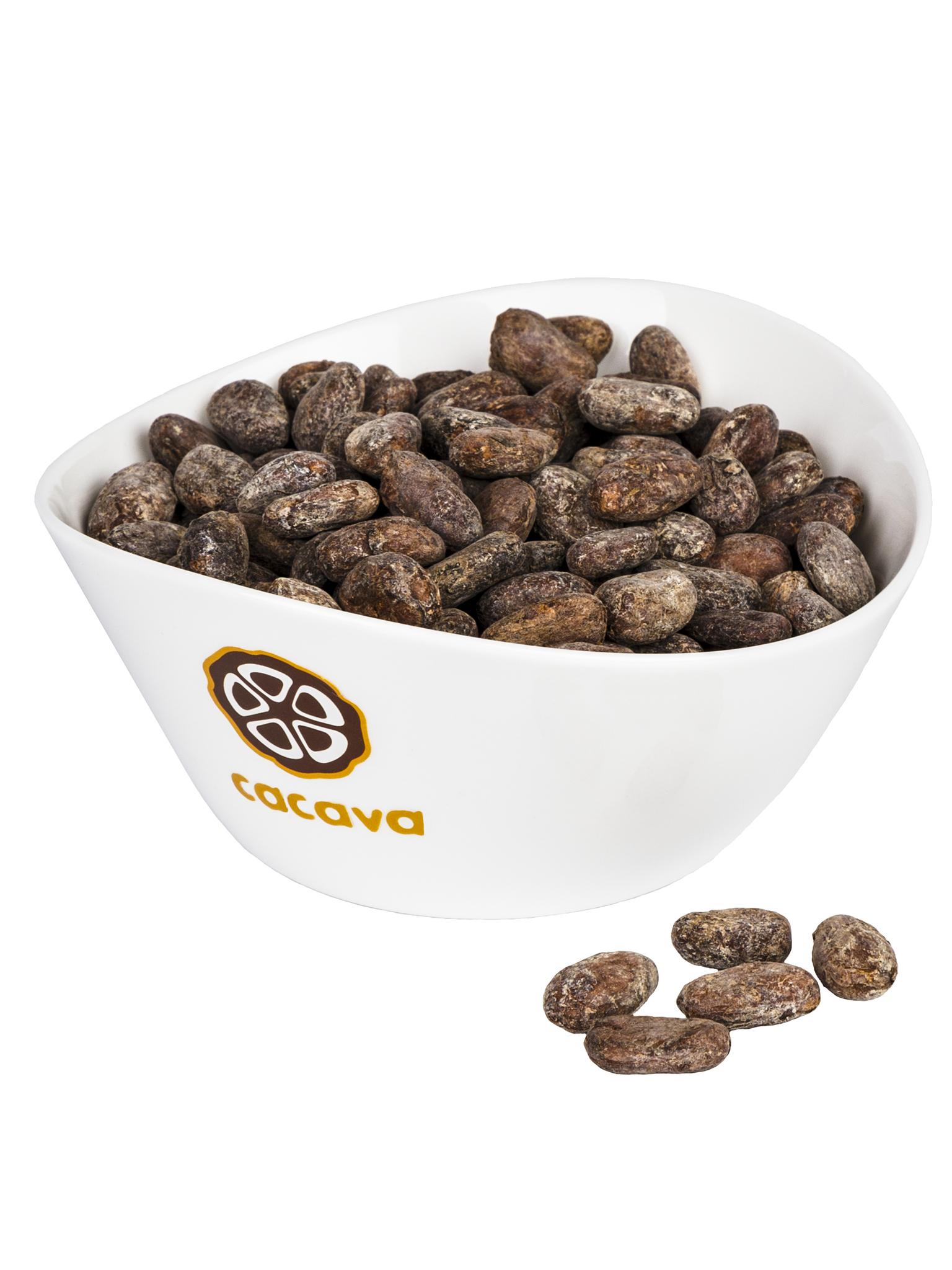 Какао-бобы цельные (Гренада), внешний вид