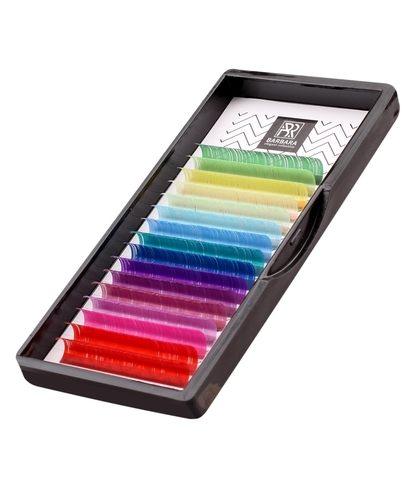 Палитра цветных ресниц BARBARA