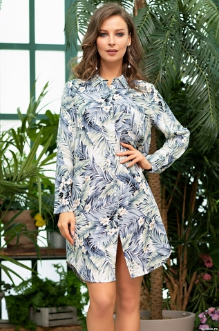 Рубашка халат женский  MIA-Amore MADEIRA МАДЕЙРА 6977