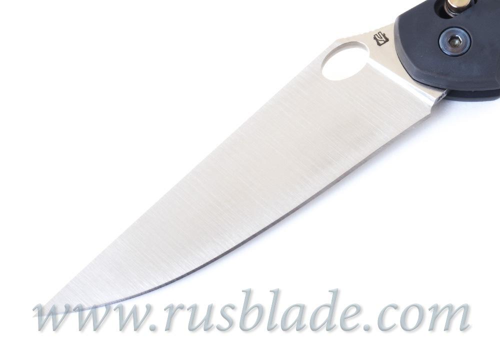 Cheburkov Axis Raven M390 Titanium CF Folding Knife - фотография