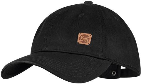 Бейсболка Buff Baseball Cap Solid Black фото 1