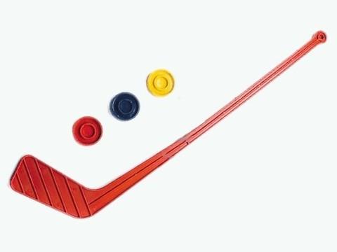 Набор хоккейный детский 1 клюшка + 3 шайбы