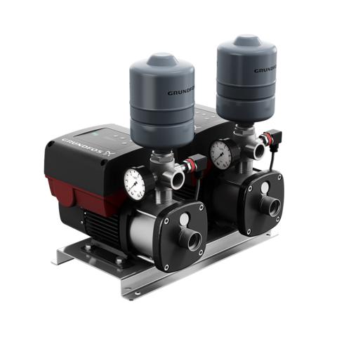 Насосная установка повышения давления - Grundfos CMBE TWIN 3-62 Schuko