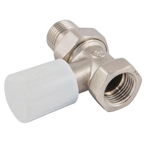Ручной вентиль с муфтой, прямой, DN 15 1/2 GZ * 1/2 GW