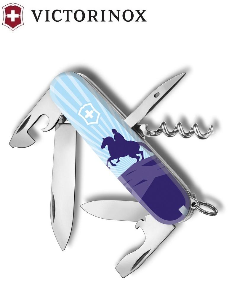 Складной нож Victorinox Spartan Медный всадник (1.3603.7R2-02) 91 мм., 12 функций | Wenger-Victorinox.Ru