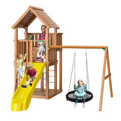 Детская площадка Jungle Palace + Swing