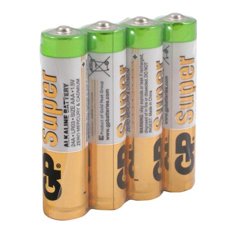 Элемент питания LR06/4S AAA GP Super Alkaline (1шт.)