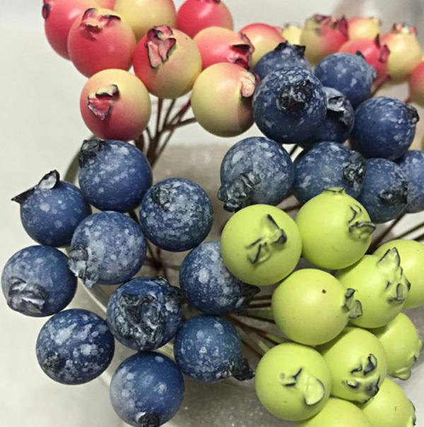 Зеленые яблочки, 1 см