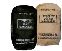 Фильтрующий материал Pyrolox (27,3 кг / 14,25 л), Райфил