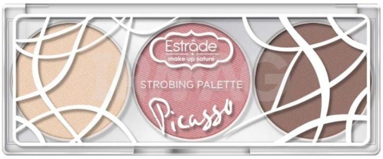 Estrade Makeup Picasso палетка для стробинга 502