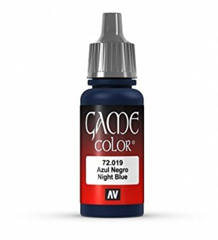 Game Color Night Blue 17 ml.