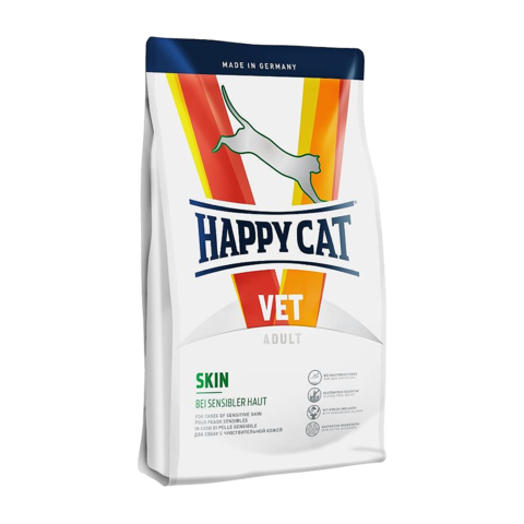 Happy Cat Vet Skin Сухой корм для кошек для здоровья кожи и шерсти