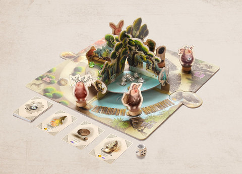 Настольная игра Гю – Лесные Целители 5+
