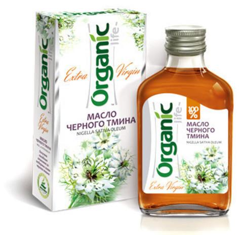 Чёрного тмина масло organic life 100 мл.