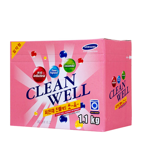 Стир/порошок универ. концент. с конд и цв ароматом Sky Chemical Clean Well 1,1 кг