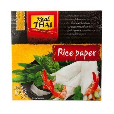 Бумага рисовая 16 см Real Thai, 100 г