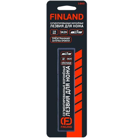 Лезвия для строительного ножа 18 мм, FINLAND
