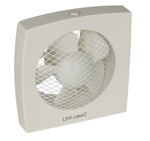 Вентилятор оконный CATA LHV 160 с гравитационными жалюзи