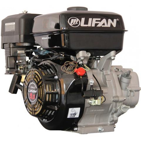 Двигатель Lifan 177F-R с понижающим редуктором