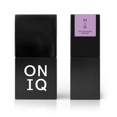 ONIQ Гель-лак 102, MIX: Pink Holographic Shimmer, 10 ml
