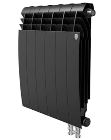 Радиатор Royal Thermo BiLiner 500 V Noir Sable - 8 секций