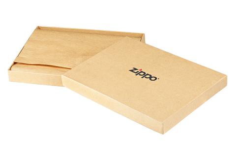 Кисет для табака Zippo, чёрный, натуральная кожа, 17x2x8,5 см123
