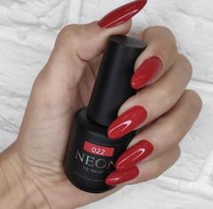 NEON, гель-лак Ruby № 022 , (12 ml) красный рубиновый