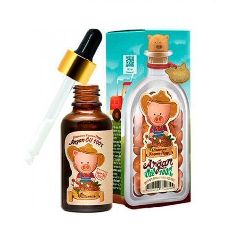 Elizavecca Аргановое масло для лица, тела и волос Farmer Piggy Argan Oil 100%, 30 мл