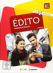 Le Nouvel Edito B1 - Livre + DVD-Rom
