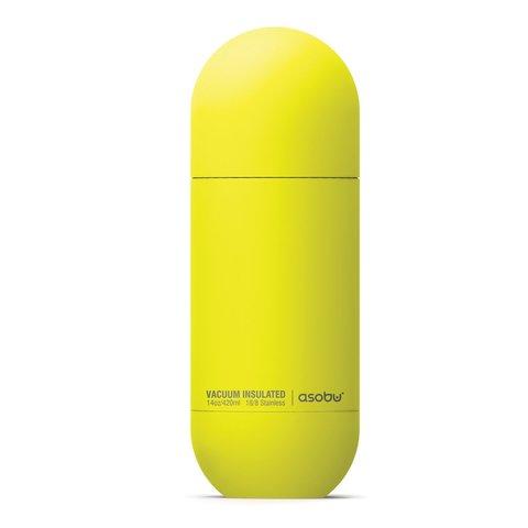 Термобутылка Asobu ORB (0,42 литра), желтая