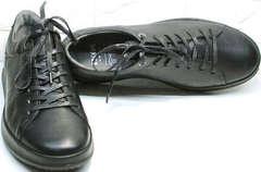 Демисезонная обувь для мужчин - лучшие кроссовки для повседневной носки Ikoc 1725-1 Black.