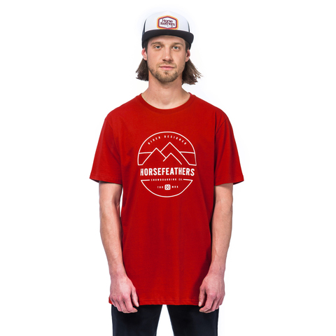 Футболка Horsefeathers TRENT SS T-SHIRT (red)