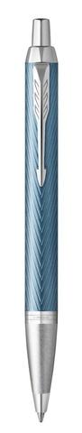 Ручка шариковая Parker IM Premium K318  Blue Grey CT M123
