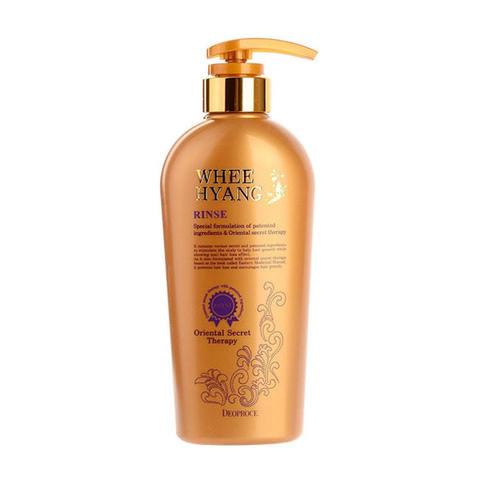 Восстанавливающий, укрепляющий волосы бальзам-ополаскиватель с экстрактом корня женьшеня Whee Hyang Rinse
