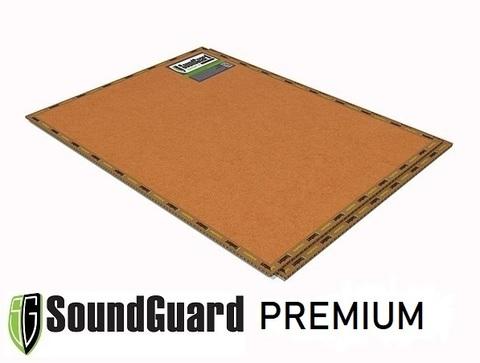 Звукоизоляционная панель SoundGuard Premium 1200x800x18 на основе кварца