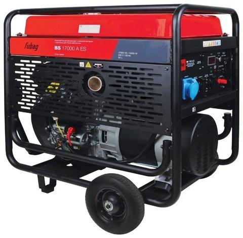 Кожух для бензинового генератора Fubag BS 17000 A ES (15000 Вт)
