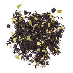 """""""Чай черная смородина с рябиной"""" 100гр, черный чай с добавками"""