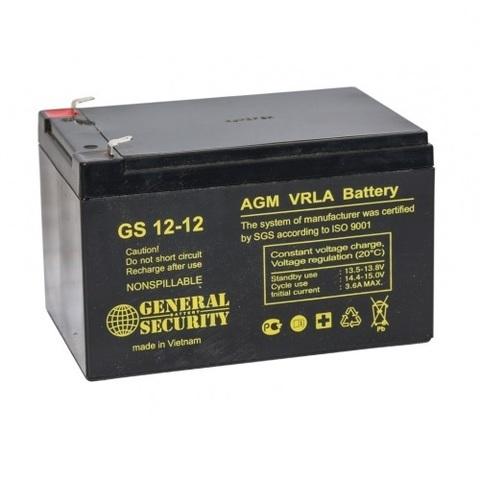 Аккумулятор GS 12-12 (12В 12А/ч)