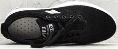 Дышащие кроссовки женские сетка черные Fashion Leisure QQ116.