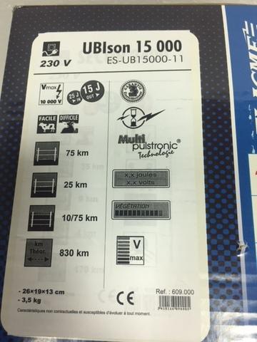 Электропастух Генератор Ubison 15000 830 км 220 в