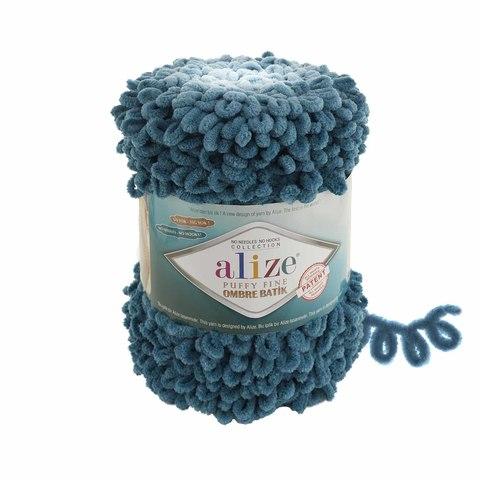 Купить Пряжа Ализе Пуффи Файн Омбре Батик - цвет 7263 | Интернет-магазин пряжи «Пряха»