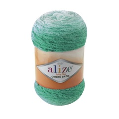 Пряжа Alize Softy Plus Ombre Batik цвет 7286