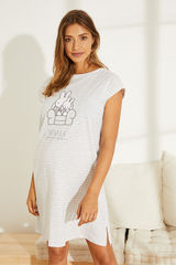 Нічна сорочка міді Maternity