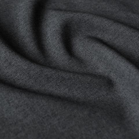 Ткань рогожка Джейн темно-серый