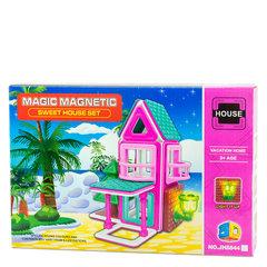 Магнитный конструктор Мagic МagneticHouse Летний домик, 21 деталь JH8844A