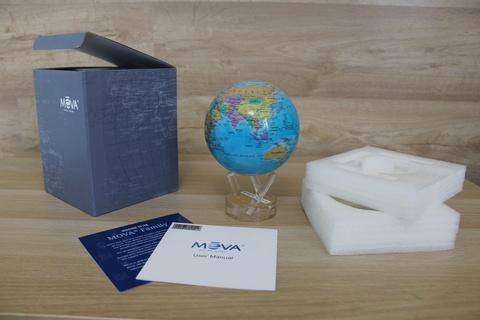 Глобус MOVA GLOBE Политическая карта мира 22 см123