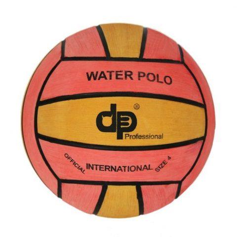 Тренировочный ватерпольный мяч DIAPOLO W4 women/junior  yellow/pink Размер 4 для женщин/юниоров арт.B-DP4-0116